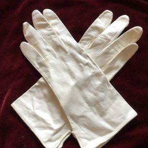 Accessories - Vintage kid leather gloves